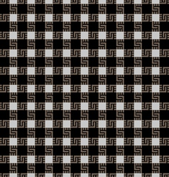 Checkered seamless pattern in scottish style vector