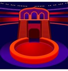 Circus arena vector