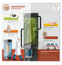 Health and medical otolaryngology anatomy vector