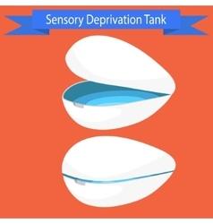 Sensory deprivation tank vector