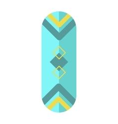 Skateboard board isolated vector image vector image