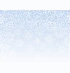Snow lacy pattern christmas winter holiday vector