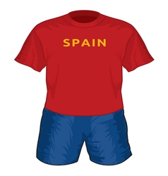 Spain dres resize vector image