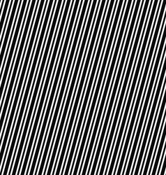 Seamless black and white angular stripe pattern vector