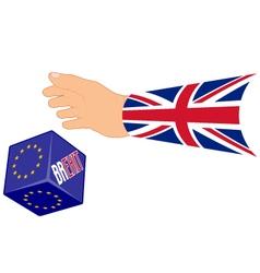 Referendum concept brexit vector