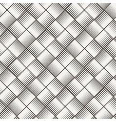 Seamless texture of intertwined bands vector
