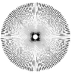 Abstract burst monochrome texture eps 10 vector