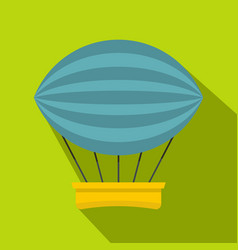 Aerial transportation icon flat style vector