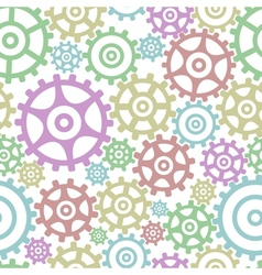 Background from gears vector image