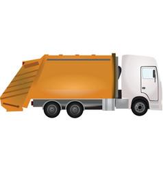 Garbadge truck vector