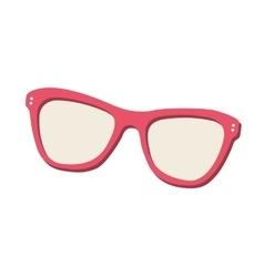 Sunglasses eyewear isolated icon vector