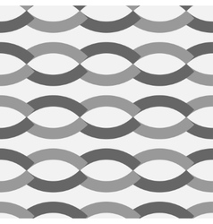 Wave geometric seamless pattern 3103 vector image vector image
