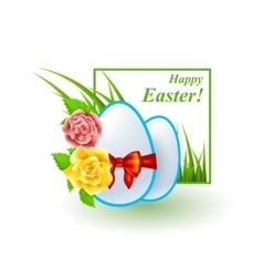 Easter good design bright set vector image vector image