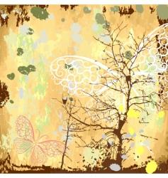 grunge background natural vector image