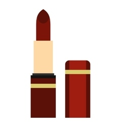 Lipstick icon flat style vector image