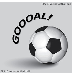 Soccer or football ball eps10 vector