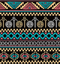 Color native ethnic seamless pattern vector