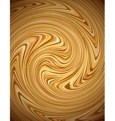Coffee swirl background vector image