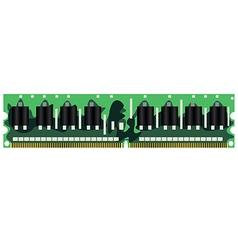 operational memory vector image