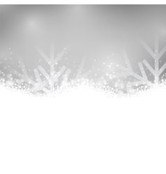 Silver shiny background vector image