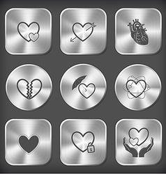 Careful heart heart and arrow unrequited love vector
