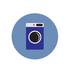Icon on the white backgrounds in circles vector