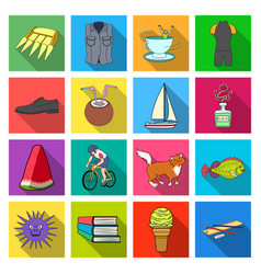 Ecology hygiene business and other w icons in vector