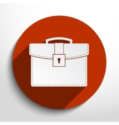 School bag icon vector