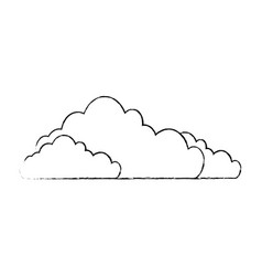 Clouds weather image vector