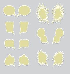 Dialog balloons vector image