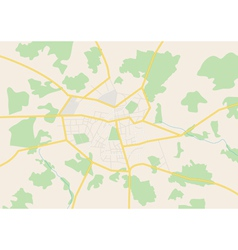 City map aug vector