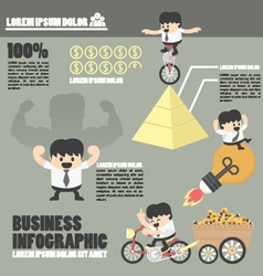 Business infographicssuccess vector