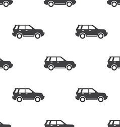 Suv seamless pattern vector