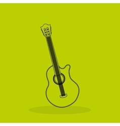 Musical sound icon design vector