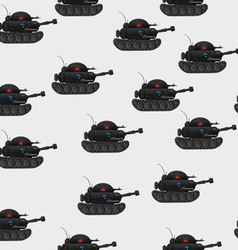 Tank pattern vector image