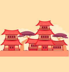 china old town vector image vector image