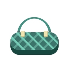 Greenladies handbag vector