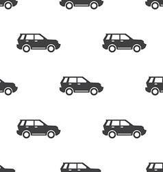 suv seamless pattern vector image