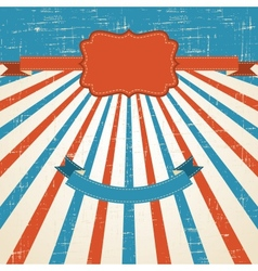 Vintage scratch background with place for text old vector image