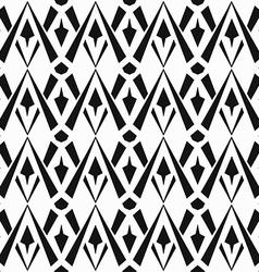 monochrome vintage seamless pattern vector image