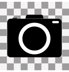 Camera icon on a transparent vector
