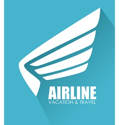 Airline design vector