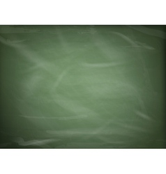 Blank green chalkboard eps 10 vector