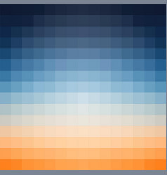 Gradient background in shades of orange and vector