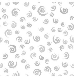 Gray spiral pattern seamless vector