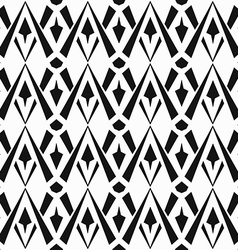 monochrome vintage seamless pattern vector image