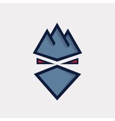Offender symbol icon or logo vector