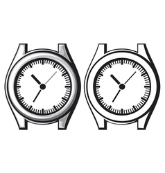 Wrist watch - wristwatch vector