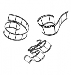 Films set vector