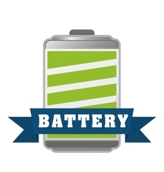 Battery icons graphic vector